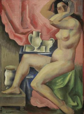 Андре Лот. Туалет. 1918