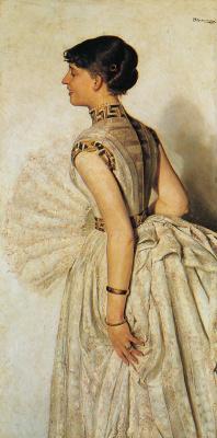 Jacek Malchevsky. Portrait of a bride artist