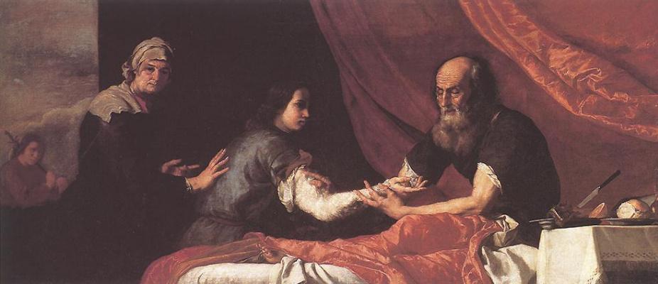 Jose de Ribera. Blessing