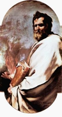Хосе де Рибера. Пророк Илия