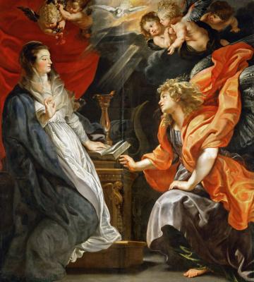 Peter Paul Rubens. The Annunciation