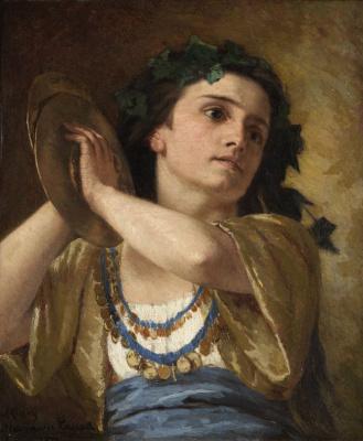 Mary Cassatt. Bacchante