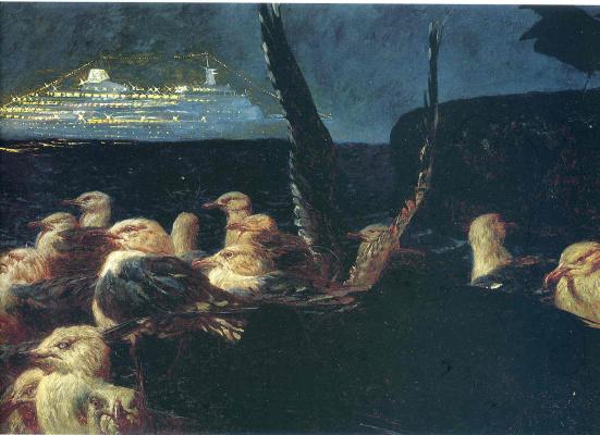 "Jamie Wyeth. The Ship ""Prince Of Scotland"""