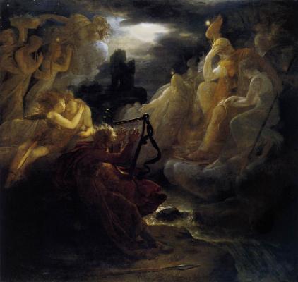 Франсуа Паскаль Симон Жерар. Пробуждение духов на берегу