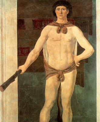 Piero della Francesca. Hercules