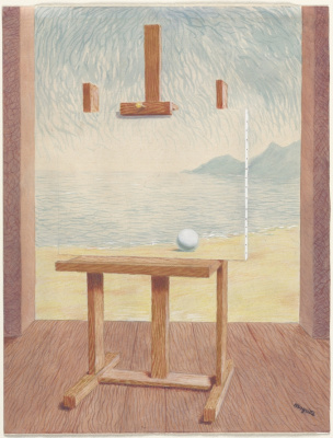 Rene Magritte. The Human Condition