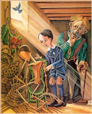 Джеральд Макдермотт. Пиноккио 6