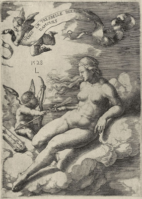 Lucas van Leiden (Luke of Leiden). Venus and Cupid
