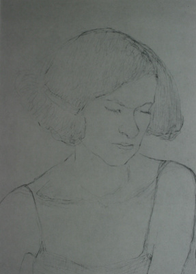 "Anatoly Kaplan L.. ""Portrait of a Girl"" 1932"