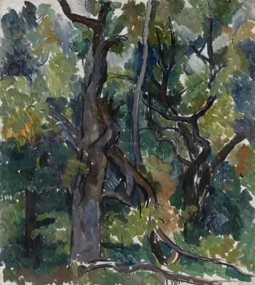 Petr Petrovich Konchalovsky. Oak