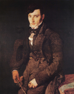 Jean Auguste Dominique Ingres. Jean-Pierre-Francois Gilbert