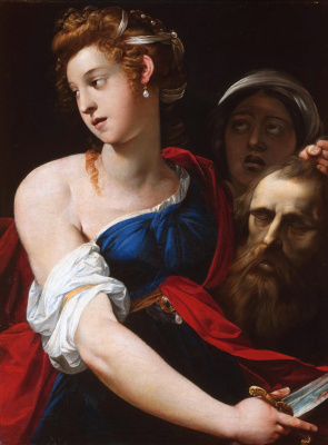 Cesari Giuseppe (Cavalier d'Arpino). Judith with the head of Holofernes. between 1605