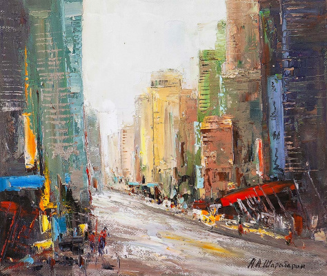 Andrew Shararin. City impressions N1