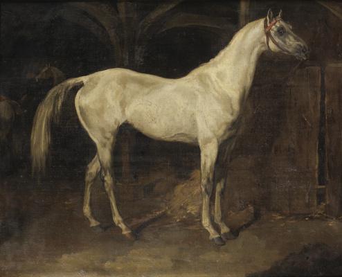 Théodore Géricault. Portrait of Ali, one of Napoleon's horses