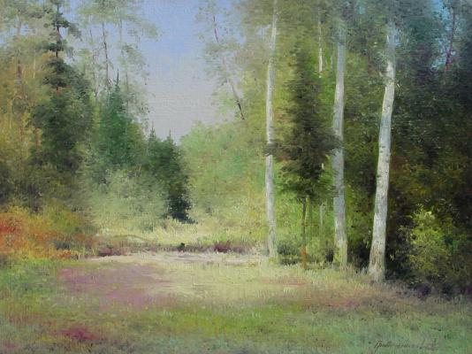 Vasily Ivanovich Gribennikov. Forest glade