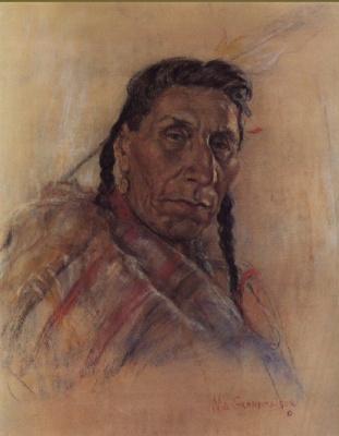Николас де Гранмезон. Индейский портрет 53