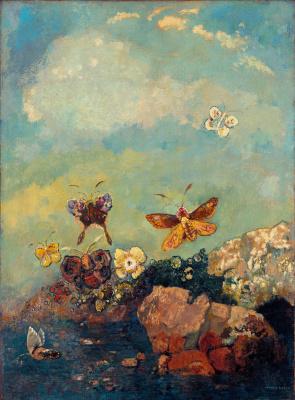 Odilon Redon. Butterfly