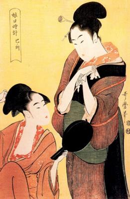 Kitagawa Utamaro. The Hour Of The Tiger