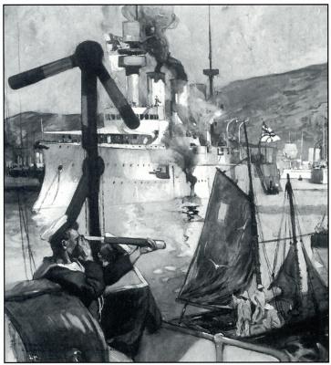 Генри Рётердал. Корабль
