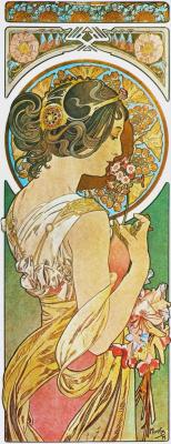 Alfons Mucha. Primula
