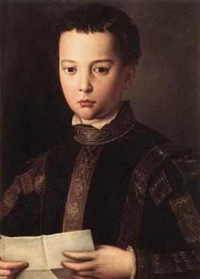Аньоло Бронзино. Портрет Франческо Медичи