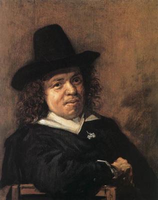 France Hals. Portrait Of Frans Jansa