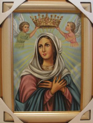Ядвига Сенько. Mary Queen Catholic icon