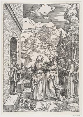 Альбрехт Дюрер. Посещение Марией Елизаветы