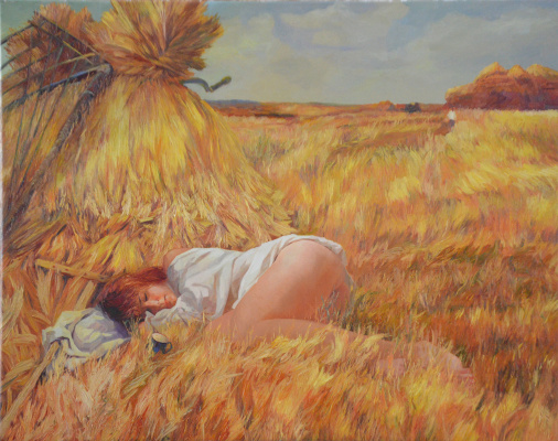 Valerij Ivanovich Sosna. Haymaking