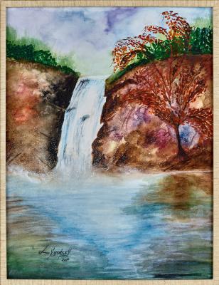 Leda Vysotsky. Waterfall