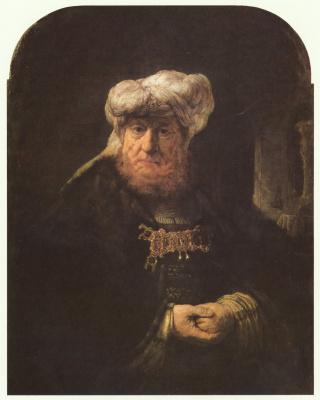 Rembrandt Harmenszoon van Rijn. King Uzziah