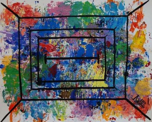 Larissa Lukaneva. Window of the world
