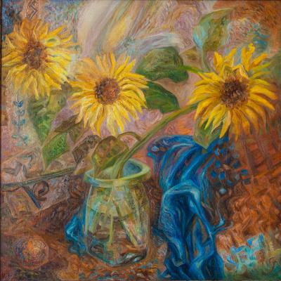 Agnessa Morkovina. Sunflowers