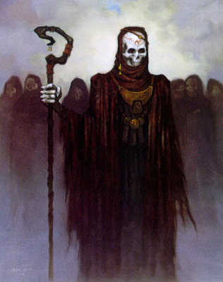 Gerald Brom. The army of the dead