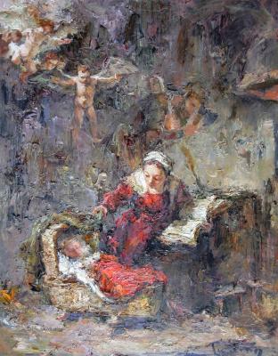 Tuman Art Gallery Tumana Zhumabayeva. Holy family