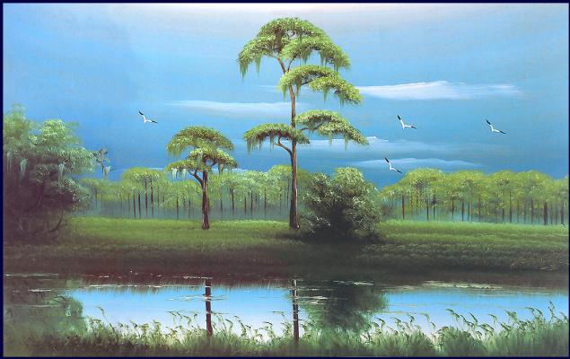 Гарольд Ньютон. Тропический пейзаж 53