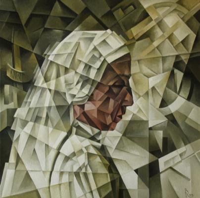 Vasily Krotkov. Frida. Kubofuturizm