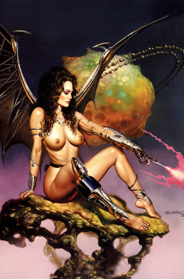Boris Vallejo (Valeggio). Mirages