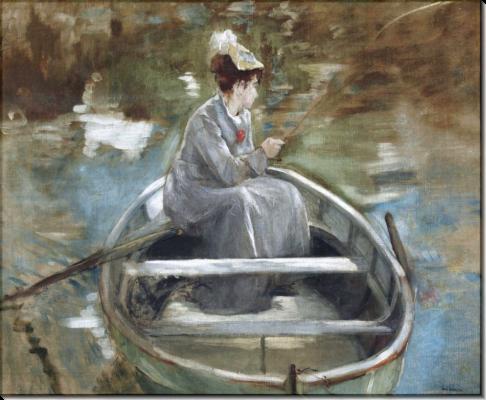 Eva Gonzalez. In The Boat