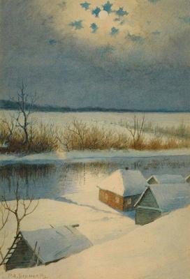 Richard Alexandrovich Berggolz. Winter
