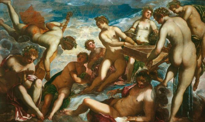 Jacopo (Robusti) Tintoretto. Muses