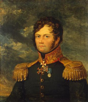 George Dow. Portrait Of Fyodor A. Lukov