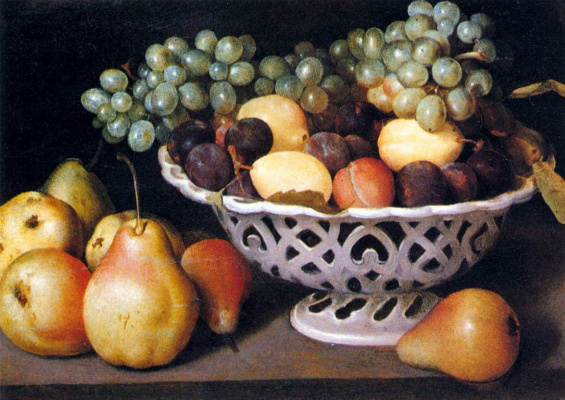 Феде Галиция. Корзинка с фруктами