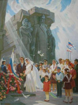 Юрий Петрович Фастенко. Аджимушкай.