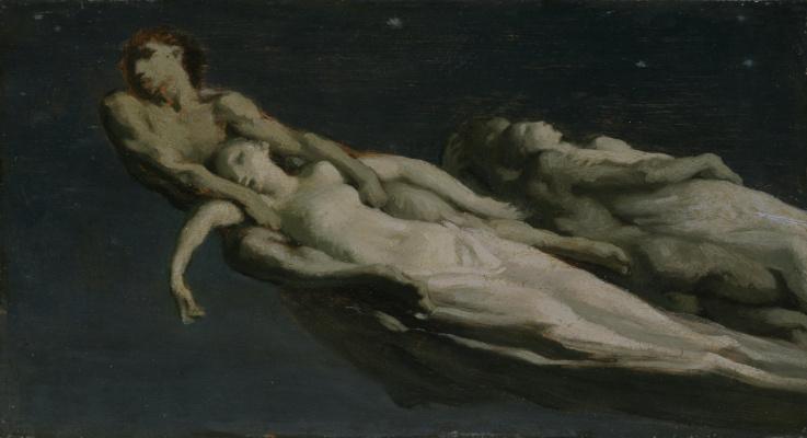 Jean-François Millet. Falling stars