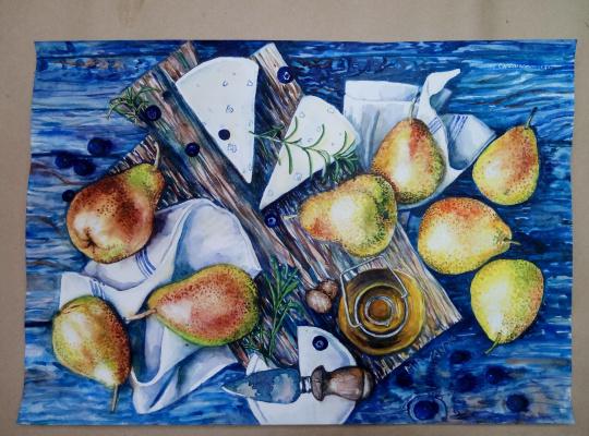 Irina Morvaniuk. September pear