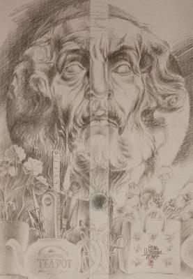 Vyacheslav Mikhailovich Davydov. Gardens in islavskom-homer