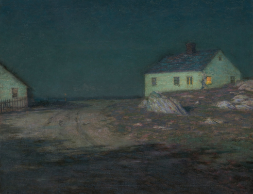 Birge Harrison. The Harbor Light