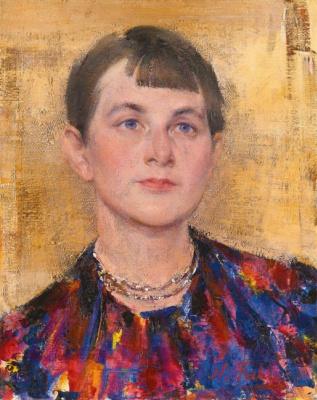 Nikolay Feshin. Indian necklace.
