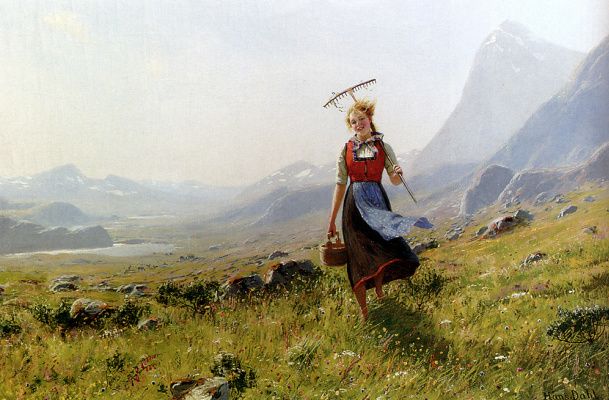 Ханс Даль. В горах